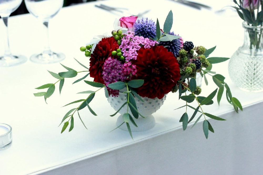 Beautiful floral design by Leweke